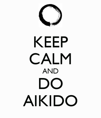 Keep calm aikido